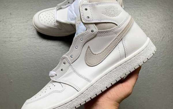 """BQ4422-100 Air Jordan 1 High '85 """"Neutral Grey"""" Will Be Released In early 2021"""