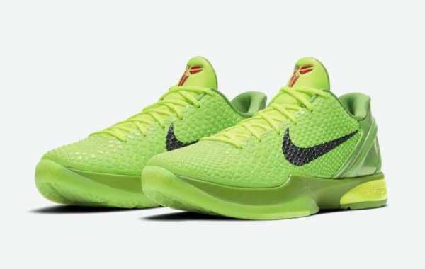 """Nike Zoom Kobe 6 Protro """"Grinch"""" CW2190-300 Will Be Released On Christmas Eve"""
