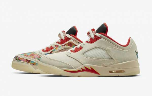 "Are You Planning To Buy Air Jordan 5 Low ""CNY"" Sneaker DD2240-100 ?"