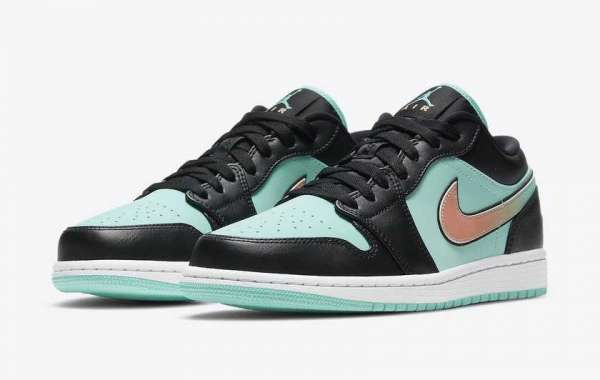 "CK3022-301 Air Jordan 1 Low SE ""Tropical Twist"" will debut soon"